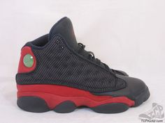 381ba3a35375 Vtg OG 2013 Nike Air Jordan XIII 13 s sz 6y VI Retro Bred Playoffs Flint  Grey