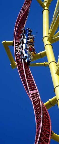 """""""Top Thrill Dragster"""", Cedar Point, Sandusky, Ohio // http://en.wikipedia.org/wiki/Top_Thrill_Dragster"""