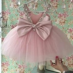 Baby Pageant Dresses, Baby Girl Party Dresses, Cute Girl Dresses, Little Girl Dresses, Baby Girl Dress Patterns, Baby Dress Design, Crochet Baby Costumes, Baby Girl Birthday Dress, Kids Frocks Design