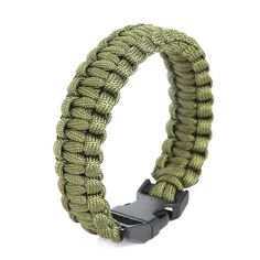 Camping Hiking Emergency ParaCord Bracelet For Men Women Survival Parachute Rope Whistle Buckle Kit Wristbands Cool Mens Bracelets, Paracord Bracelets, Lion Pictures, Survival, Hiking, Camping, Kit, Jewelry, Articles