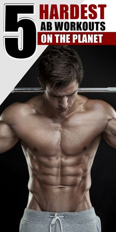 Midsection looking just a bit too soft for summer? Try these 5 amazing ab workouts and start carving one killer core today --> http://beldtlabs.com/blogs/fitness-tips/19192623-the-worlds-5-toughest-ab-exercises/?src=pinterest-5hardestabs