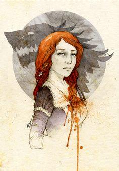 Para otros artículos con el mismo nombre, visita la página de desambiguación. Sansa Stark es la hija mayor de Lord Eddard Stark y Lady Catelyn Tully. Tiene tres hermanos, Robb, Brandon y Rickon; una hermana, Arya, y un medio hermano bastardo, Jon Nieve. Está casada con Tyrion Lannister.