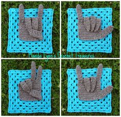 MandaLynn's Crochet Treasures : Give Granny a Hand - free! how cool!!