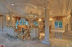 Chateau D or Bel Air California |