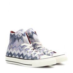 Converse X Missoni - Chuck Taylor All Star high-top sneakers - mytheresa.com ae1c8665e