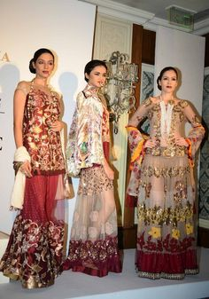 Rina Dhaka at Delhi Couture week 2014.