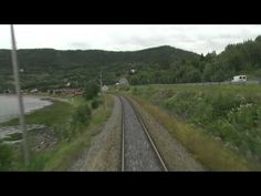 Cab Ride Norway : Trondheim - Bodø (Summer) Nordland Line - YouTube
