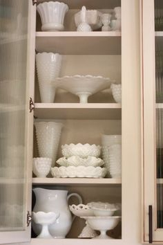 I need a place like this for my milk glass collection