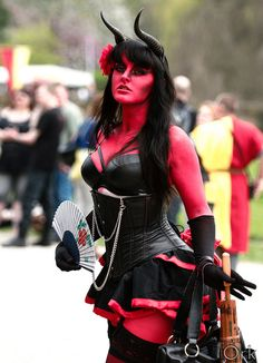 Succubus? Lilith? Red hot.