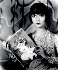 Louise Brooks reading Smart Set