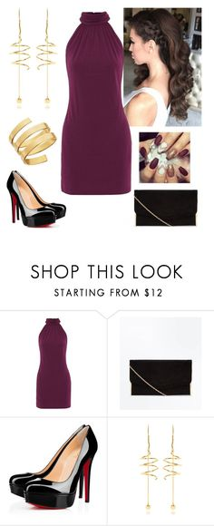"""Don't let bad situations shape your character"" by paoladouka on Polyvore featuring Christian Louboutin, E L L E R Y and Lana"
