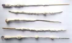wands made from air dry clay
