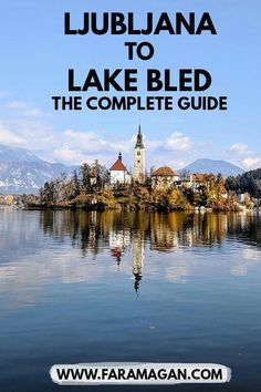 Complete city guide to #ljubljana including everything you need to know for a daytrip to #lakebled - includes best restaurants, accommodation and top tips for the best weekend getaway or city break when #backpacking #europe #traveleurope