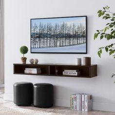 Corner Tv Console, Wall Mounted Media Console, Corner Wall, Console Shelf, Floating Media Console, Floating Tv Shelf, Floating Cabinets, Living Room Tv, Living Room Furniture