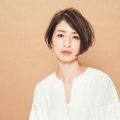 Asian Short Hair, Short Hair With Layers, Fashion Books, Asian Woman, My Hair, Short Hair Styles, Hair Cuts, Bob, Updos