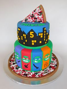 TMNT Cake - Teenage Mutant Ninja Turtles Cake