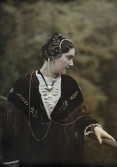 A young woman from the Tarentaise.