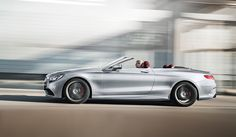 Side view of the Mercedes-AMG S 63 4MATIC Cabriolet