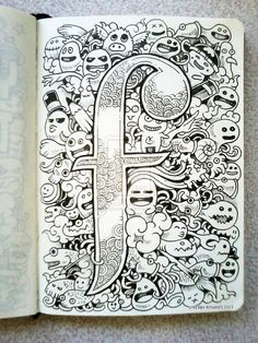 DOODLE ART: F is for Fun! by kerbyrosanes on deviantART