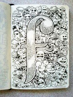 DOODLE ART: F is for Fun! by kerbyrosanes on deviantART