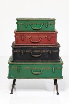 Dobre_pl - Komoda Suitcase Iron - KARE DESIGN 77133