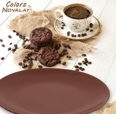 Colors by Novalay - Colurful Dinner Plates. #Color #plate #Dinner #Decoration #Food #recipe #beautiful