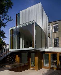 Matilde house extension in Dublin by Ailtireacht