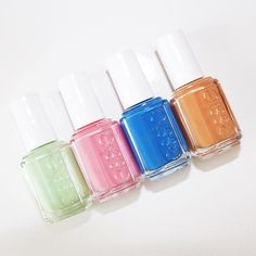 Preppy Pedi: The sun is out! So that must mean your toes are out too! Before you slip on your Jacks better double check to make sure your pedicure is on point. Have you seen the newest Essie colors in their Resort 2016 collection? There are four new hues from Going Guru to Taj-Ma-Haul. Its safe to say these are the new colors to take your pedi from plain to preppy in one quick swipe! Lovely Essie Resort 2016 image via @Laurenslist  #Sloaneranger #prep #preppy #pedicure #summer…