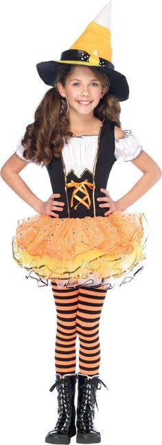 Girls Spellbound Witch Costume   Discover more ideas about Witch ...