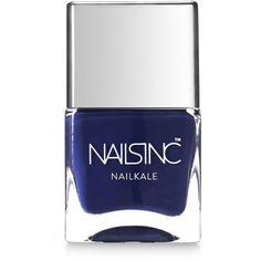 Nails inc Nailkale Richmond Park Gardens Nail Polish/0.47 oz. (191.280 IDR) ❤ liked on Polyvore featuring beauty products, nail care, nail polish, nails, makeup, esmalte, nails inc. and nails inc nail polish