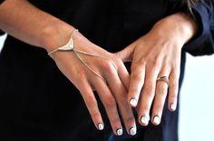 pulp jewels — Bague Moon et bijoux de main
