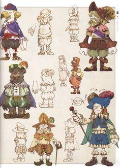 Final Fantasy IX Characters.