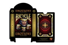 Bicycle Emotions Playing Cards Cry, laugh, get angry or scared with this full color playing card deck! Card Deck, Deck Of Cards, Bicycle Playing Cards, Painting & Drawing, Cry, Photo Art, Card Making, Paintings, Film