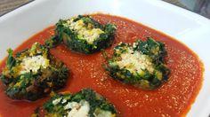 Shaam Savera - Spinach dumplings in Tomato Gravy #MyRasoiAdventures
