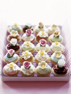 Enchanted Wood Tea Party cupcakes