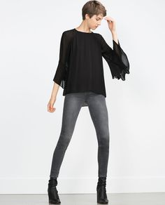 SKINNY TROUSERS-Gothic-Trends-WOMAN | ZARA United States
