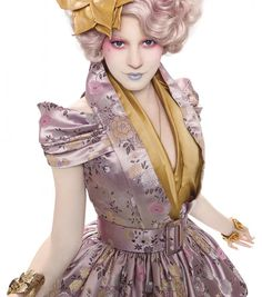 Effie Trinket from The Hunger Games!