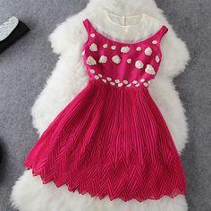 Flower Lace Dress GD0702EE