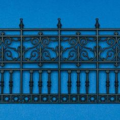 Faux wrought iron railings available at Dolls' House Emporium