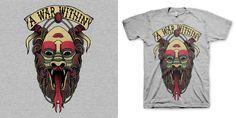 """Tattoo Ambigram"" t-shirt design by justinbryant"