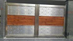 Home Gate Design, Gate Wall Design, Front Wall Design, House Main Gates Design, Steel Gate Design, Iron Gate Design, Bedroom Door Design, Gate Designs Modern, Modern Exterior House Designs