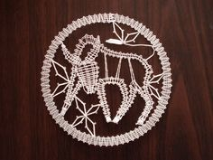 Lace Heart, Lace Jewelry, Lace Making, Bobbin Lace, Lace Detail, Horoscope, Zodiac Signs, Dream Catcher, Butterfly