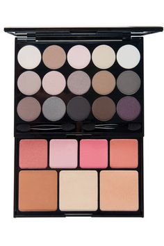 """""""This super-cute and affordable palette is perfect for fashionistas on a budget. There are loads of rich shadows on the top tier and plenty of blushes, bronzers, and highlighters below."""" NYX Butt Naked Eyes Makeup Palette, $25, available at NYX."""