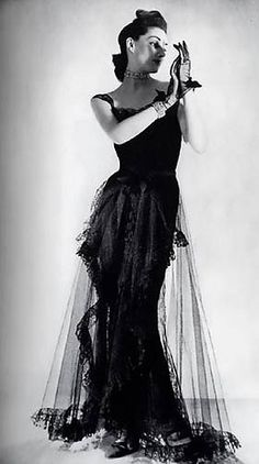 Chanel dress - 1939 - House of Chanel (French, founded 1913) - Design by Gabrielle 'Coco' Chanel