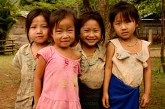 children outside their school house in Long Lao public School in Laos Kailash Satyarthi, Child Face, Early Education, First Baby, Quotes For Kids, Public School, Beautiful Children, Little People, Childhood