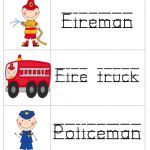 Community Helpers unit---just in time, the kid'a school is learning about community helpers this week, too