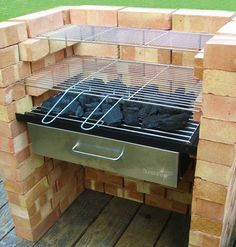 "Excellent ""built in grill diy"" detail is offered on our site. Bbq Grill, Grilling, Parrilla Exterior, Brick Grill, Barbecue Design, Pergola, Built In Grill, Summer Kitchen, Outdoor Kitchen Design"