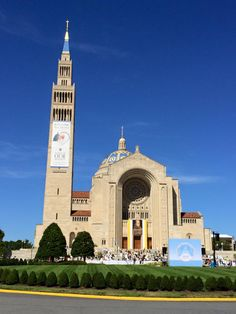 The National Shrine of the Immaculate Conception at the Catholic University of America is ready for Pope Francis to celebrate the canonization mass for Junipero Serra!
