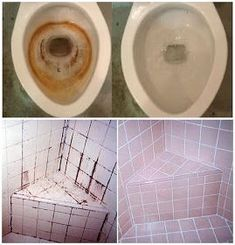 Deja tu inodoro y baldosas impecables en tan solo 10 segundos, increíble pero cierto. House Cleaning Tips, Diy Cleaning Products, Cleaning Solutions, Cleaning Hacks, Small Space Interior Design, Interior Design Living Room, Power Clean, Free To Use Images, Household Chores
