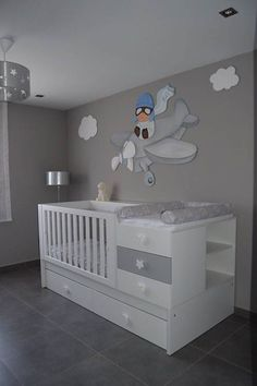 99 Modern Baby Room Themes Design Ideas - Baby Bed , 99 Modern Baby Room Themes Design Ideas - Nautical baby bedding will send your baby to sleep dreaming of his future sailing adventures. Baby Bedroom, Baby Boy Rooms, Baby Boy Nurseries, Baby Cribs, Nursery Room, Kids Bedroom, Nursery Ideas, Baby Beds, Babies Nursery